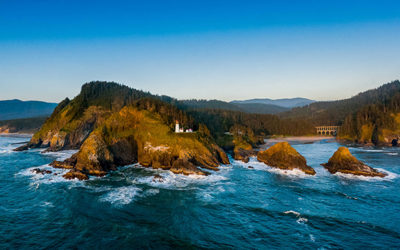 Heceta Head Lighthouse Bed & Breakfast – Oregon Coast Wedding Venue